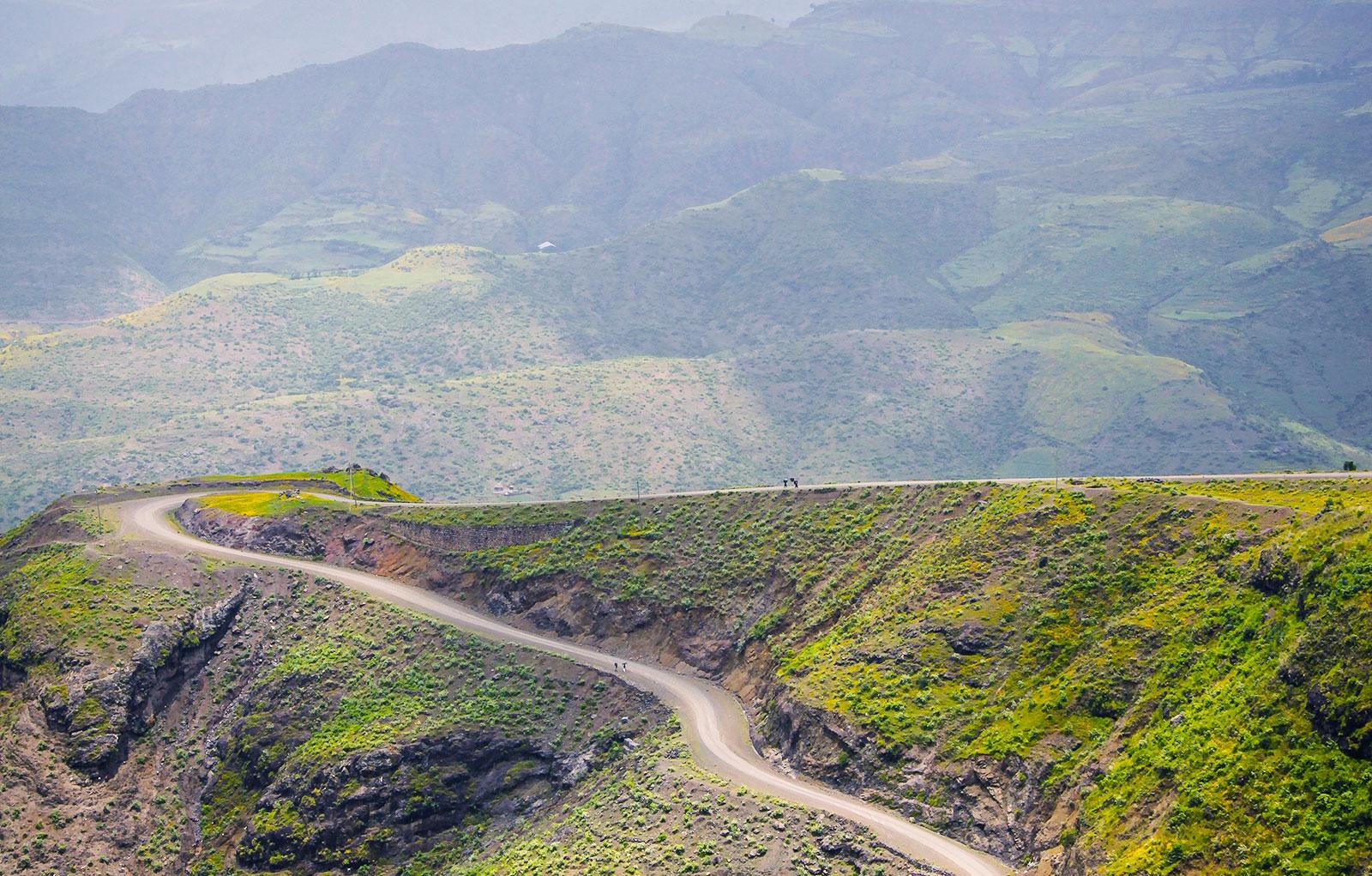 Trekking In The Ethiopian Mountains