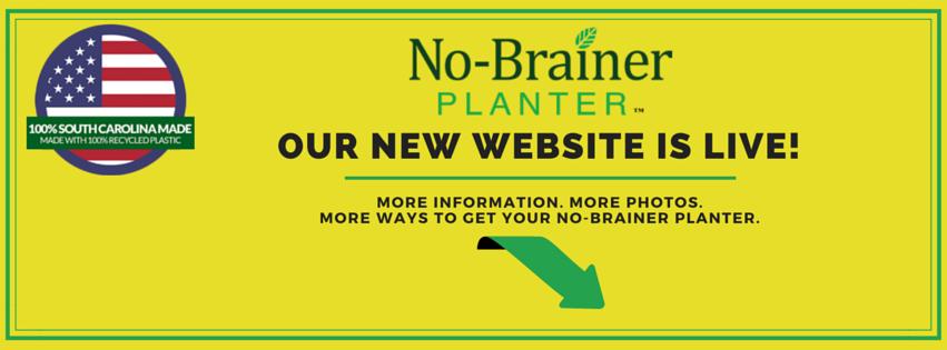 Facebook Cover - No-Brainer Planter Website Launch