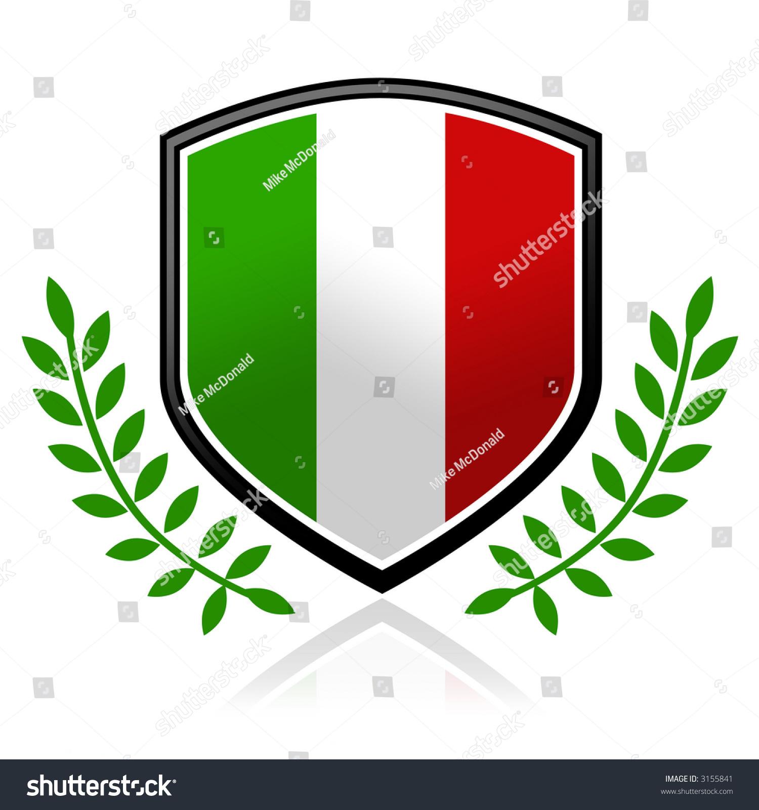 stock-photo-italian-flag-shield-3155841