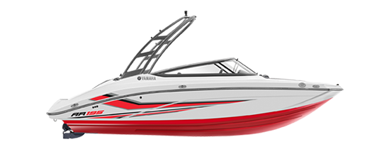yamaha-boats-2020-ar195-white-red-profile-2