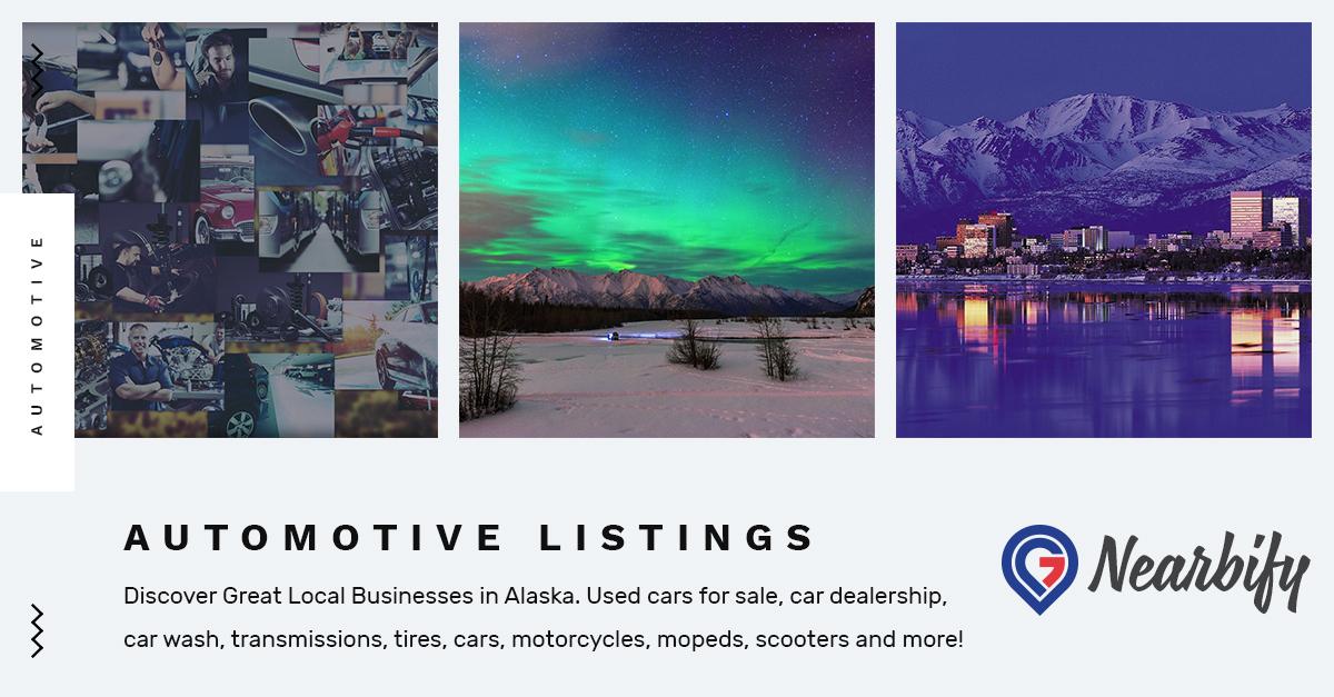 Automotive Listings on Nearbify USA Find Local Automotive Listings in Alaska