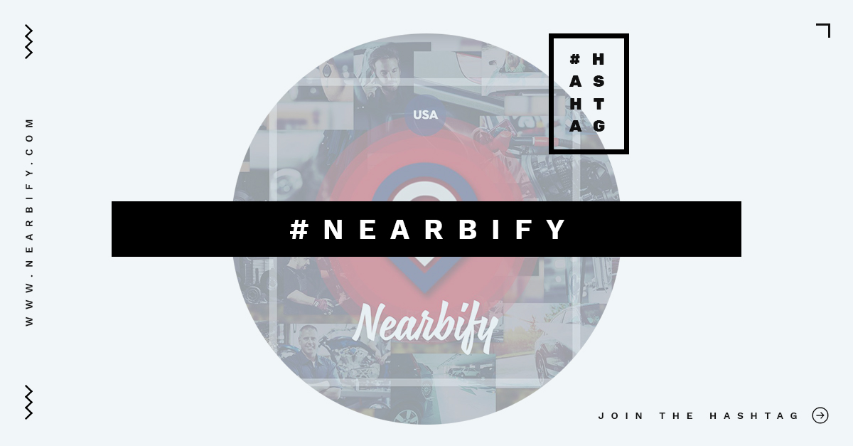 Join the Hashtag Nearbify on All Social Networks