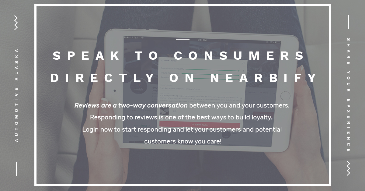 Speak to Consumers Directly on Nearbify