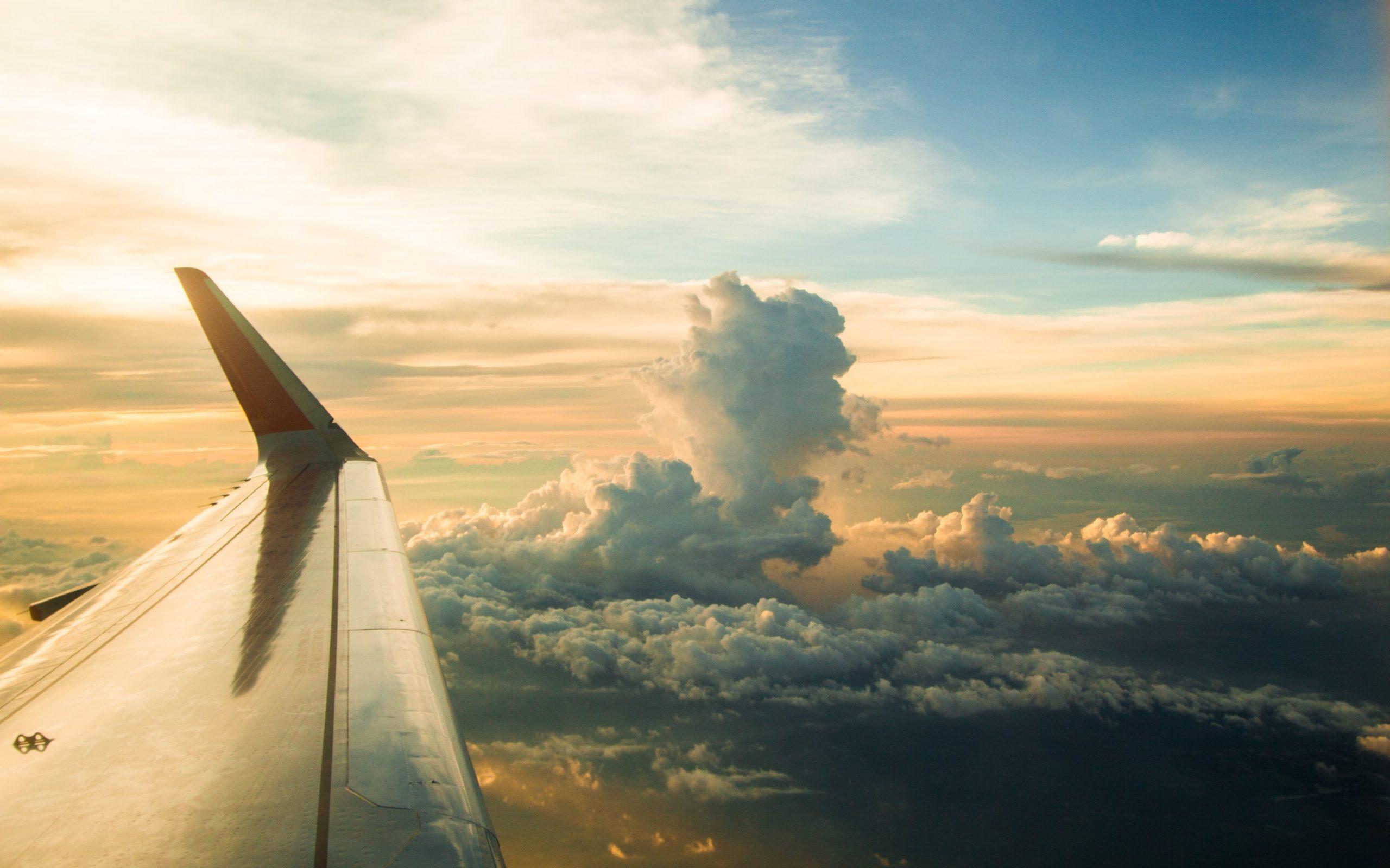 View_airplane_window_wallpaper