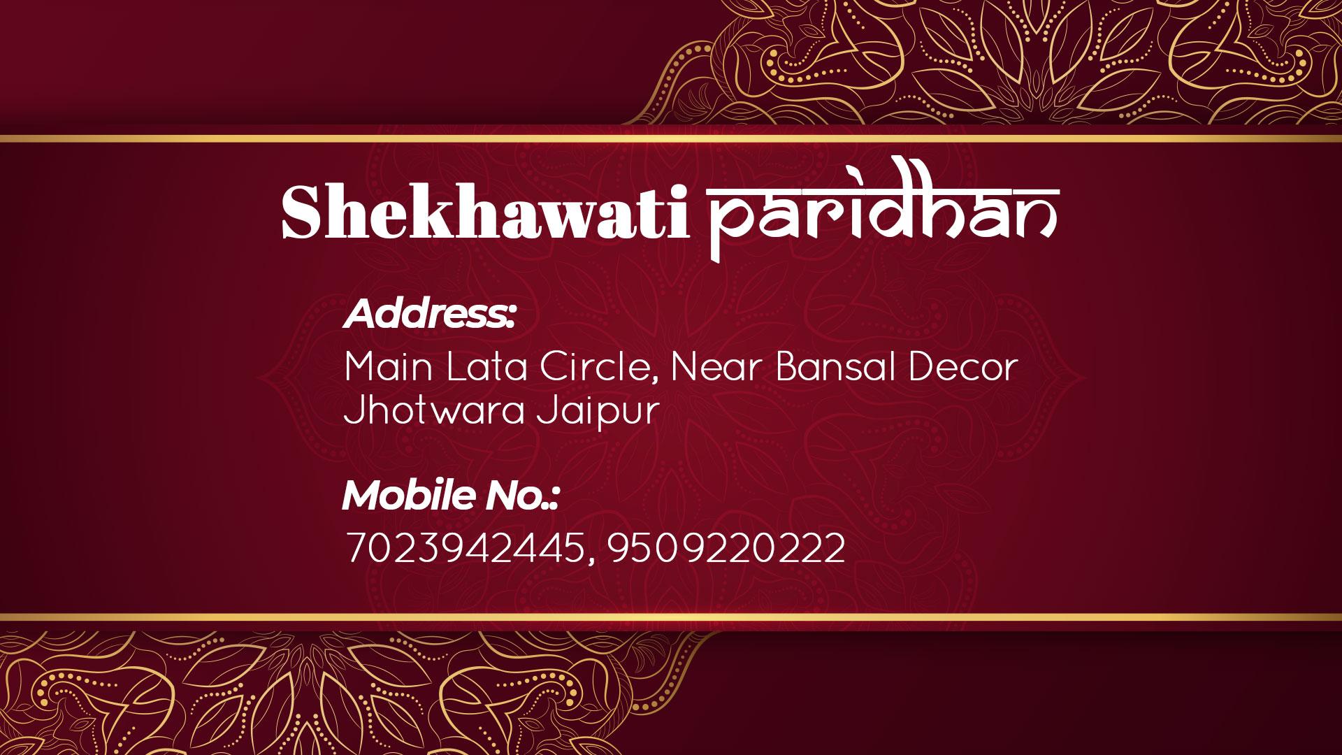 Shekhawati Banner